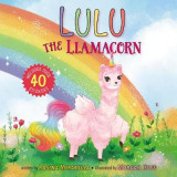 Omslag - Lulu the Llamacorn
