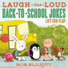 Laugh-Out-Loud Back-to-School Jokes: Lift-the-Flap av Rob Elliott (Heftet)