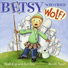 Betsy Who Cried Wolf av Gail Carson Levine (Heftet)