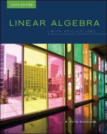 Linear Algebra with Applications av W. Keith Nicholson (Innbundet)