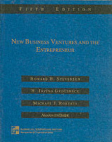 New Business Ventures and the Entrepreneur av Howard H. Stevenson, Michael J. Roberts og Harold Irving Grousbeck (Heftet)