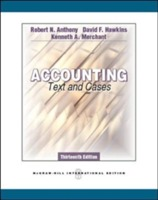 Accounting: Texts and Cases (Int'l Ed) av Robert N. Anthony, David F. Hawkins og Kenneth A. Merchant (Heftet)