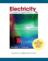 Omslag - Electricity Principles & Applications: WITH Student Data CD-ROM