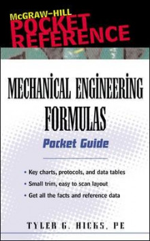 Mechanical Engineering Formulas Pocket Guide av Tyler G. Hicks (Heftet)