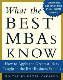 What the Best MBAs Know av Peter Navarro (Innbundet)