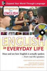 Omslag - Improve Your English: English in Everyday Life (DVD w/ Book)