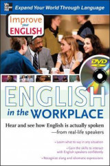 Omslag - Improve Your English: English in the Workplace (DVD w/ Book)