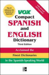 Omslag - Vox Compact Spanish and English Dictionary