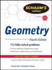 Schaum's Outline of Geometry av Barnett Rich og Christopher R. Thomas (Heftet)