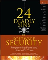 24 Deadly Sins of Software Security: Programming Flaws and How to Fix Them av Michael Howard, David LeBlanc og John Viega (Heftet)