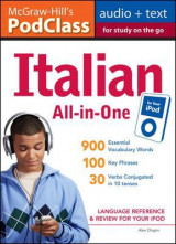 Omslag - McGraw-Hill's PodClass Italian All-in-One Study Guide (MP3 Disk)
