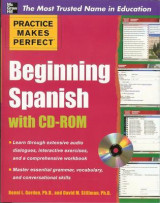 Omslag - Practice Makes Perfect Beginning Spanish with CD-ROM