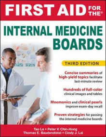 First Aid for the Internal Medicine Boards av Tao Le, Tom Baudendistel, Peter Chin-Hong og Cindy Lai (Heftet)