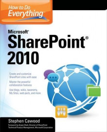How to Do Everything Microsoft SharePoint 2010 av Stephen Cawood (Heftet)