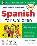 Omslag - Spanish for Children with Three Audio CDs, Third Edition