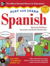 Omslag - Play and Learn Spanish with Audio CD