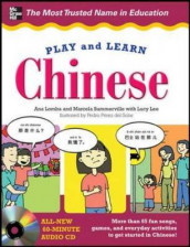 Play and Learn Chinese with Audio CD av Ana Lomba (Blandet mediaprodukt)