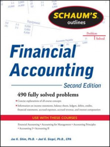 Schaum's Outline of Financial Accounting av Dr. Jae K. Shim og Joel G. Siegel (Heftet)