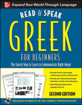 Omslag - Read and Speak Greek for Beginners with Audio CD, 2nd Edition