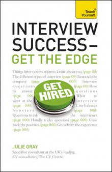 Interview Success--Get the Edge: A Teach Yourself Guide av Julie Gray (Heftet)