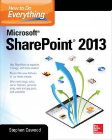 How to Do Everything Microsoft SharePoint 2013 av Stephen Cawood (Heftet)