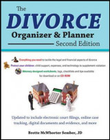 Omslag - The Divorce Organizer and Planner with CD-ROM