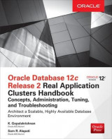 Omslag - Oracle Database 12c Release 2 Oracle Real Application Clusters Handbook: Concepts, Administration, Tuning & Troubleshooting