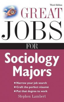 Great Jobs for Sociology Majors av Lambert (Innbundet)