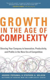 Growth in the Age of Complexity: Steering Your Company to Innovation, Productivity, and Profits in the New Era of Competition av Andrei Perumal og Stephen A. Wilson (Innbundet)