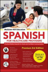 Omslag - Mcgraw-Hill Education Spanish for Healthcare Providers, Premium
