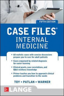 Case Files Internal Medicine, Fifth Edition av Eugene C. Toy, John T. Patlan og Mark T. Warner (Heftet)