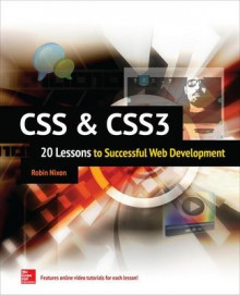 CSS & CSS3: 20 Lessons to Successful Web Development av Robin Nixon (Heftet)