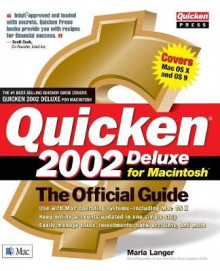 Quicken 2002 Deluxe for Macintosh: the Official Guide av Maria L. Langer (Heftet)