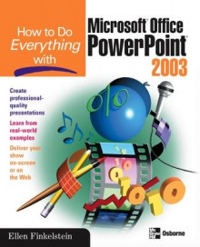 How to Do Everything with Microsoft Office PowerPoint 2003 av Ellen Finkelstein (Heftet)