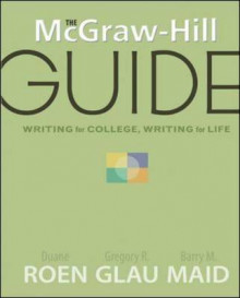 The Writing for College, Writing for Life av Gregory R. Glau, D. H. Roen og Barry M Maid (Heftet)