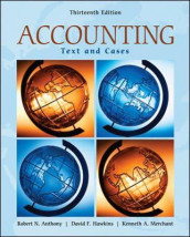 Accounting: Texts and Cases av Robert N. Anthony, David F. Hawkins og Kenneth A. Merchant (Innbundet)
