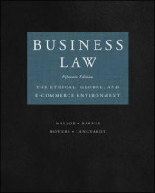 Business Law av A. James Barnes, L. Thomas Bowers, Arlen W. Langvardt og Jane P. Mallor (Innbundet)