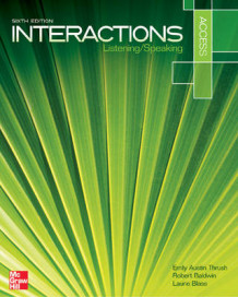 Interaction Access Listening/Speaking Student Book Plus Registration Code for Connect ESL av Emily Austin Thrush, Professor of Law Robert Baldwin og Laurie Blass (Blandet mediaprodukt)
