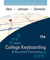 Omslag - Microsoft Office Word 2010 Manual to Accompany College Keyboarding & Document Processing