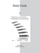 Study Guide to Accompany Statistical Techniques in Business & Economics 15e av Douglas A Lind, William G Marchal, Samuel A Wathen og Kathleen Whitcomb (Heftet)