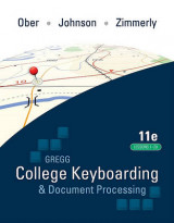 Omslag - Gregg College Keyboarding & Document Processing, Kit 4