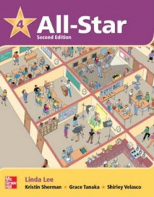 All-Star 4 Student Book W/Work-Out CD-ROM av Lee Linda, Linda Lee, Shirley Velasco, Grace Tanaka og Kristin Sherman (Blandet mediaprodukt)