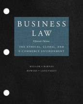Loose-Leaf for Business Law av A James Barnes, L Thomas Bowers, Arlen W Langvardt og Jane P Mallor (Perm)