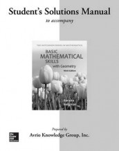 Student Solutions for Manual Basic Math Skills with Geometry av Stefan Baratto, Barry Bergman og Donald Hutchison (Heftet)