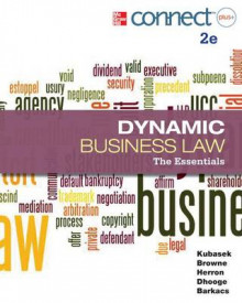 Dynamic Business Law with Access Code av Nancy Kubasek, M Neil Browne, Dan Herron, Lucien Dhooge og Linda Barkacs (Heftet)