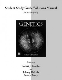 Student Study Guide/Solutions Manual for Genetics av Robert Brooker (Heftet)