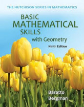 Basic Mathematical Skills with Geometry with Access Code av Stefan Baratto og Barry Bergman (Heftet)