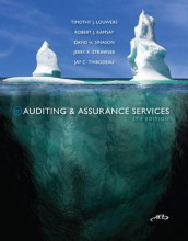 Loose Leaf Auditing & Assurance Services W/ACL CD + Connect Access Card av Timothy Louwers (Perm)