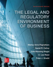 The Legal and Regulatory Environment of Business av Daniel R. Cahoy, Julie Manning Magid, Marisa Anne Pagnattaro, O. Lee Reed og Peter J. Shedd (Innbundet)