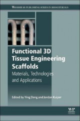 Omslag - Functional 3D Tissue Engineering Scaffolds